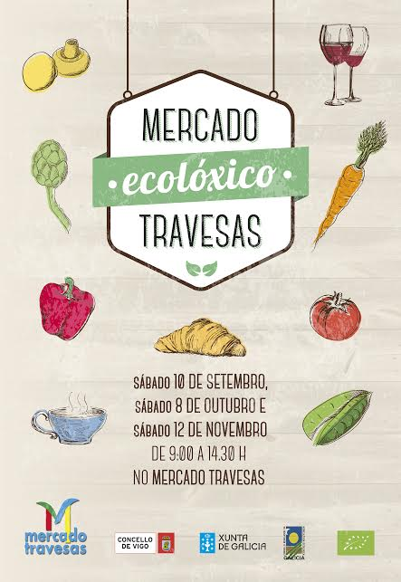 Mercado ecologico Travesas Vigo